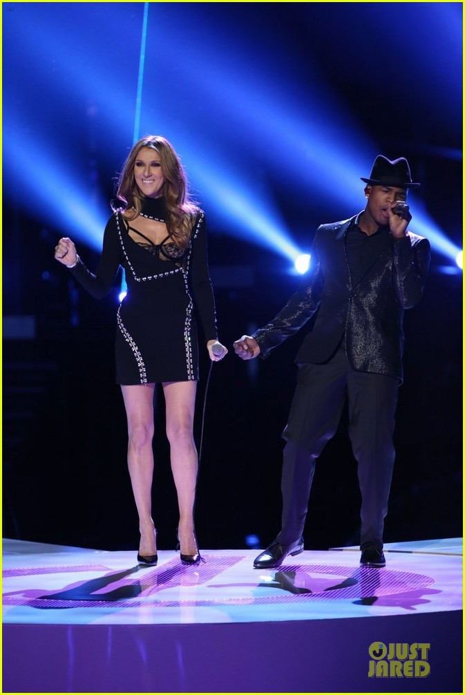 celine dion ne yo incredible performance on the voice video 013013980