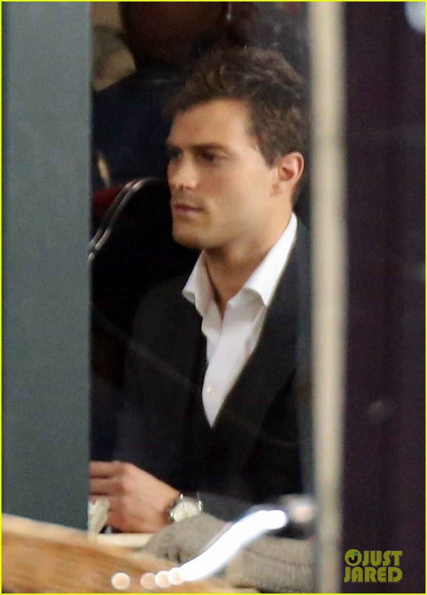 jamie dornan filming fifty shades of grey first photos on set 123002972