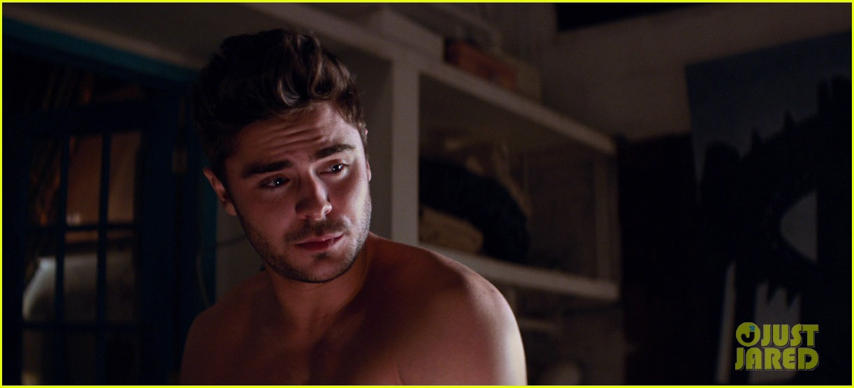 zac efron michael b jordan shirtless for that awkward moment 15