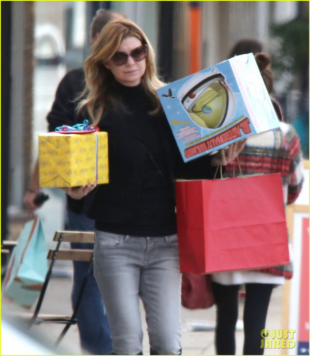 ellen pompeo my husband chris ivery has so much swag 193008379