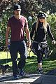 fergie josh duhamel dog walking duo 08