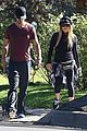 fergie josh duhamel dog walking duo 10