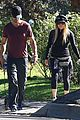 fergie josh duhamel dog walking duo 11