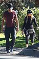 fergie josh duhamel dog walking duo 12
