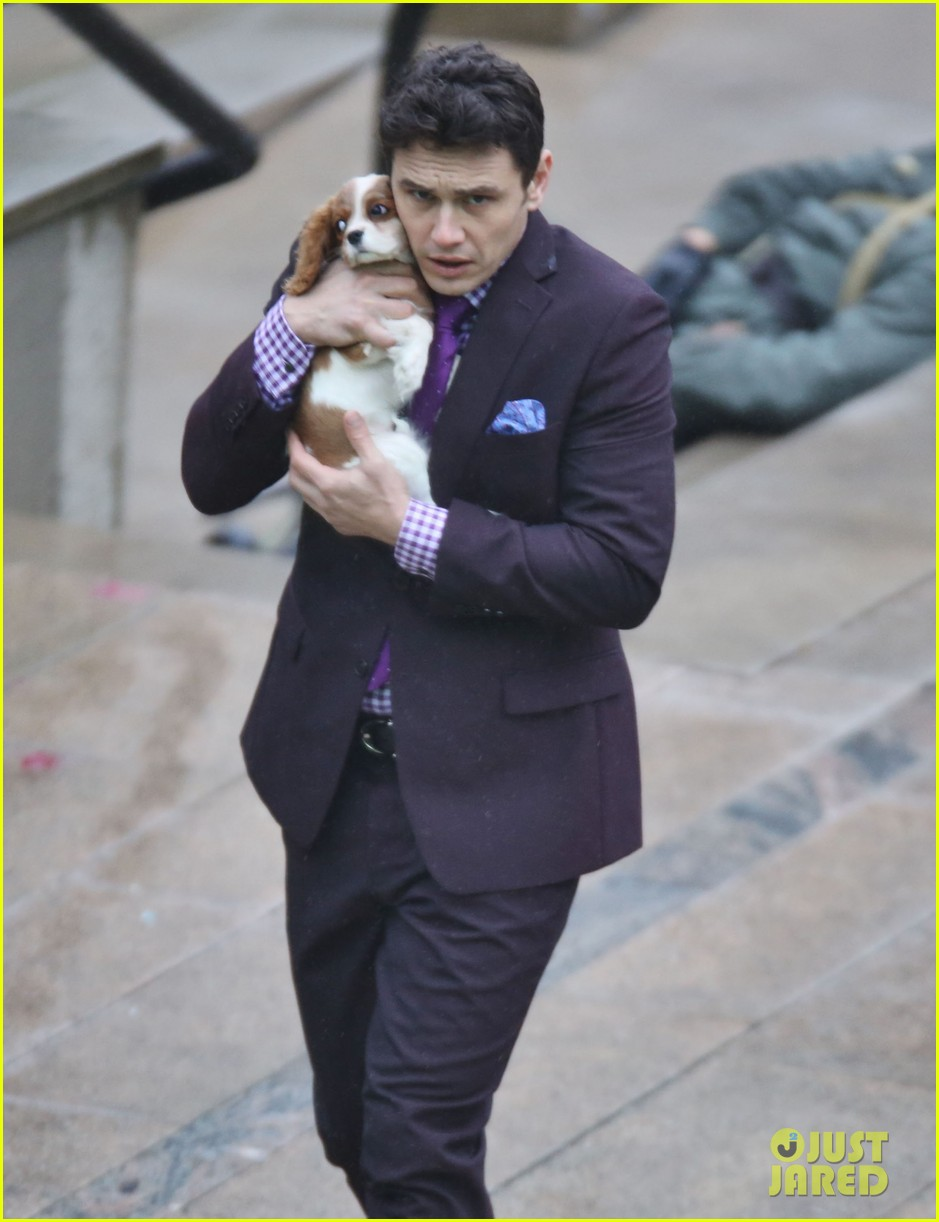 james franco cradles puppy with seth rogen for interview 23