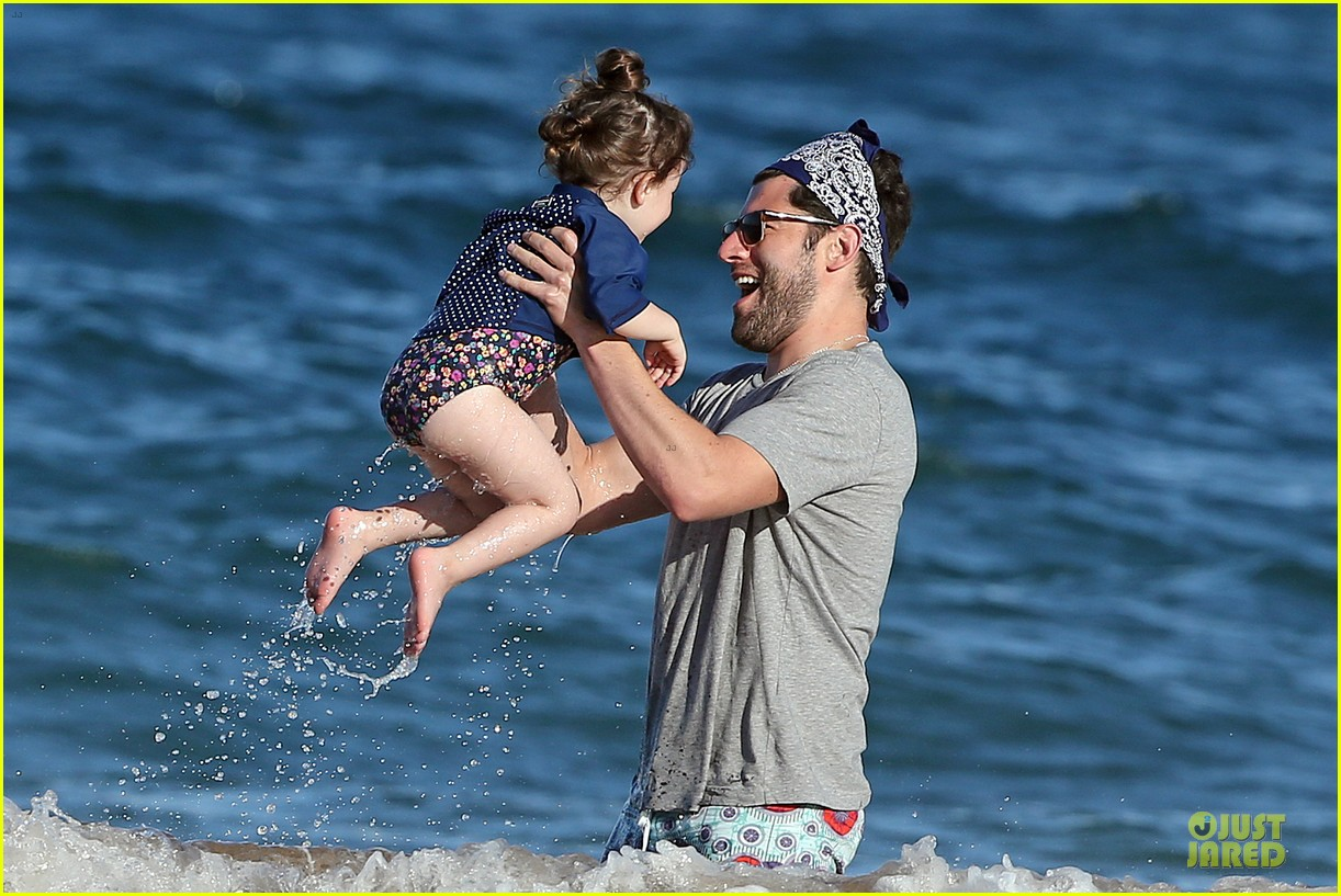 max greenfield shirtless vacation with bikini clad wife tess 23