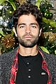 adrian grenier lacoste christmas lights celebration 11