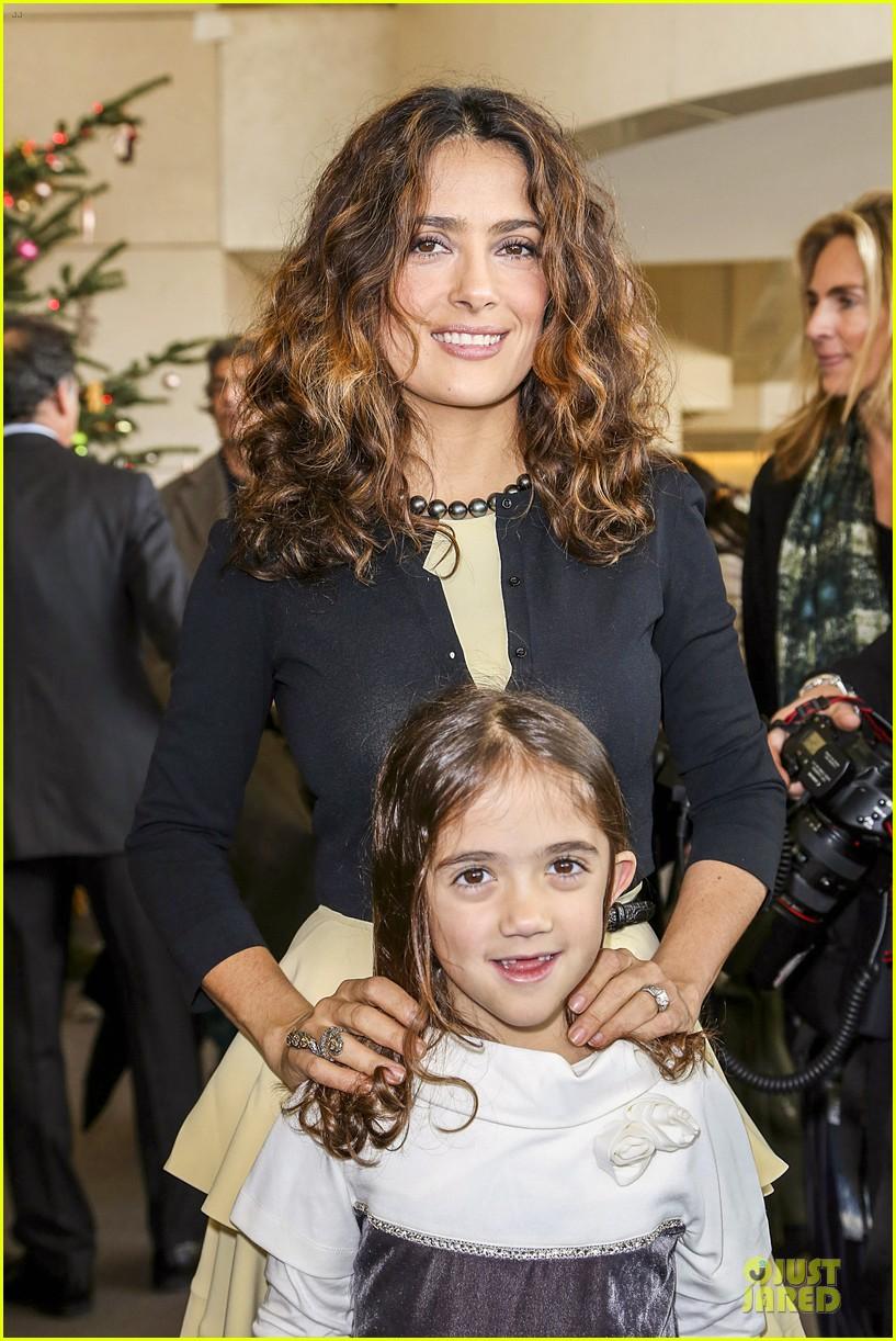 Сальма Хайек с дочерью Валентиной