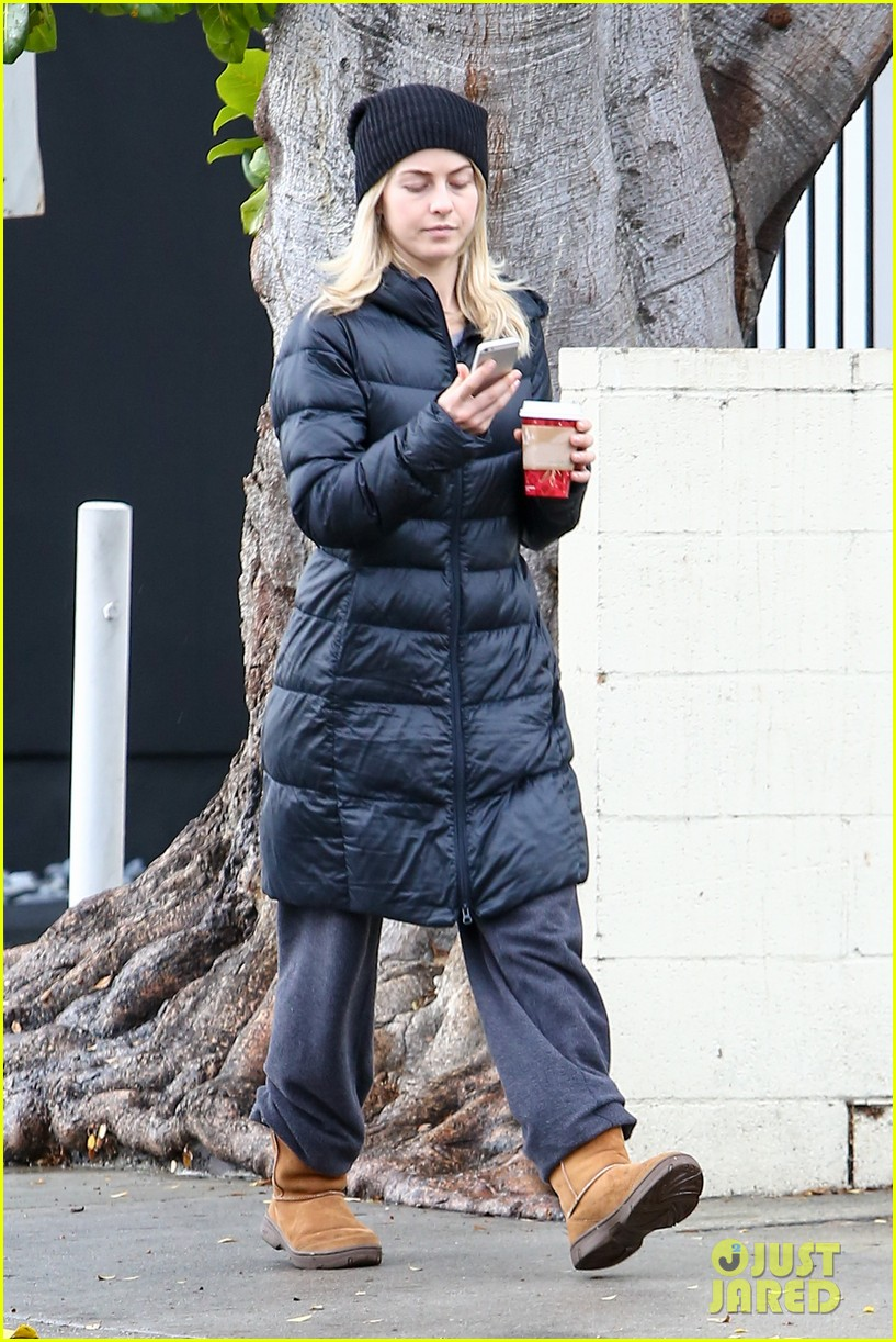 julianne hough is ready for christmas with armful of gifts 203015305