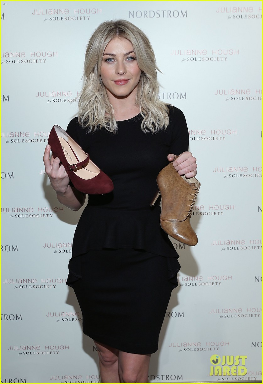julianne hough sole society shoe collection launch 073007541