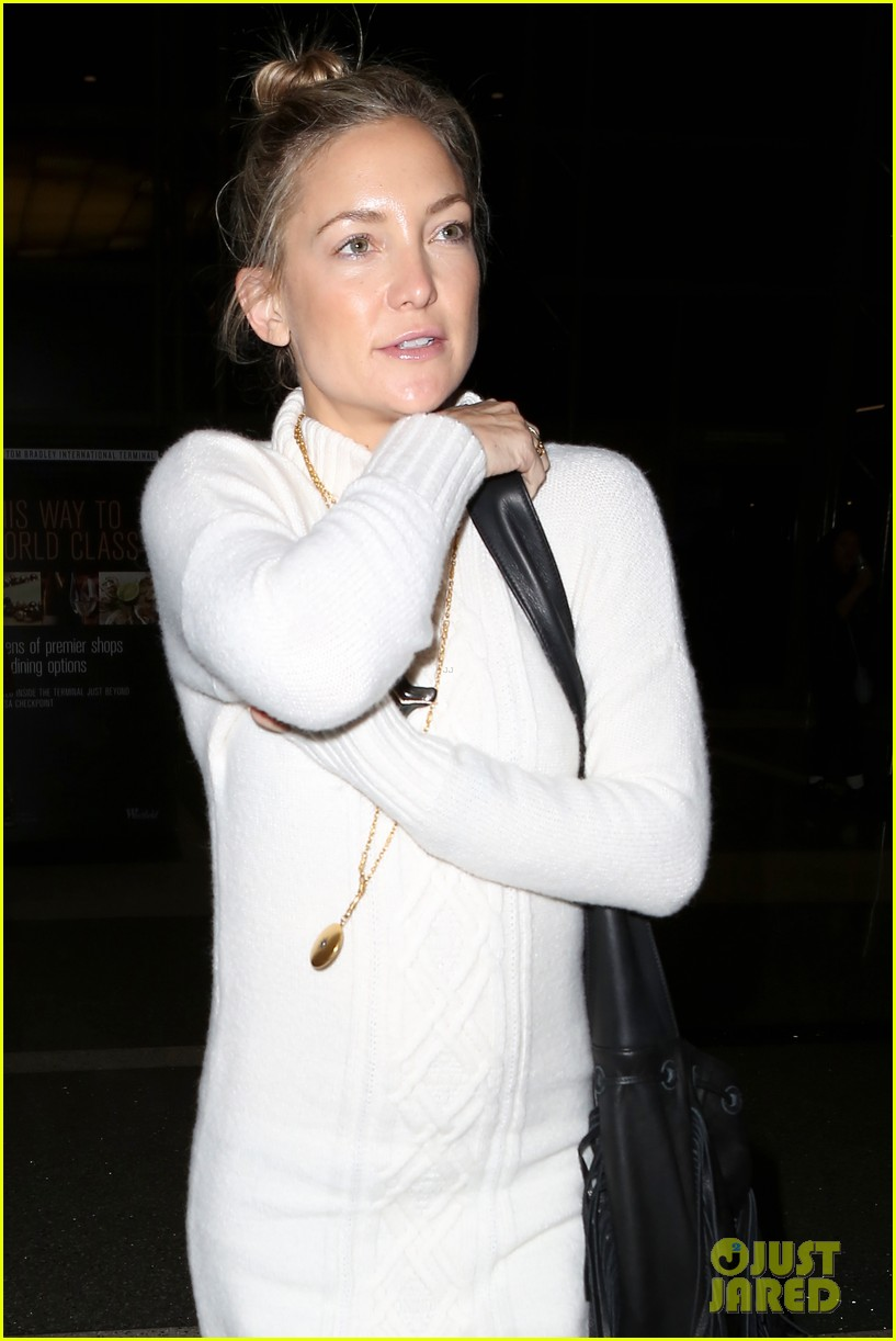 kate hudson makeup free at lax 063014180