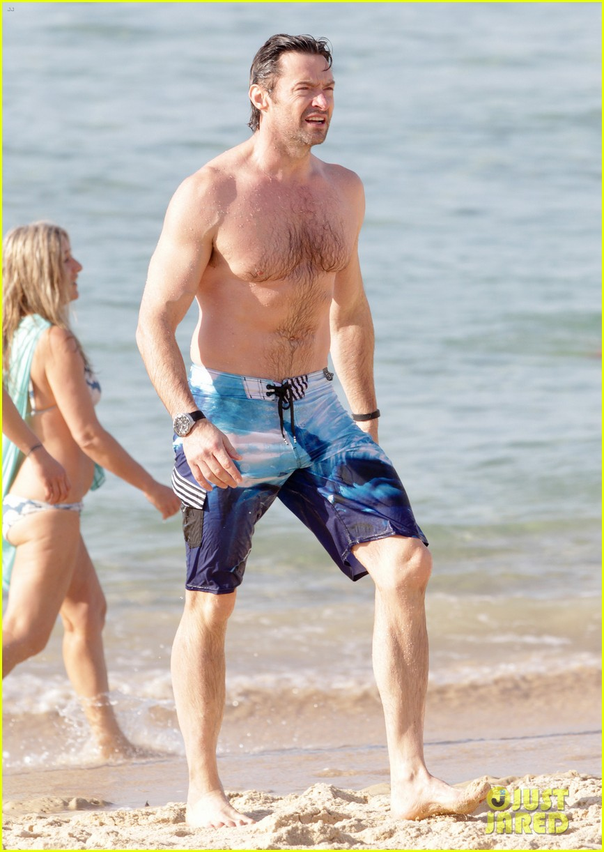 hugh jackman goes sexy shirtless after pan casting news 233015074