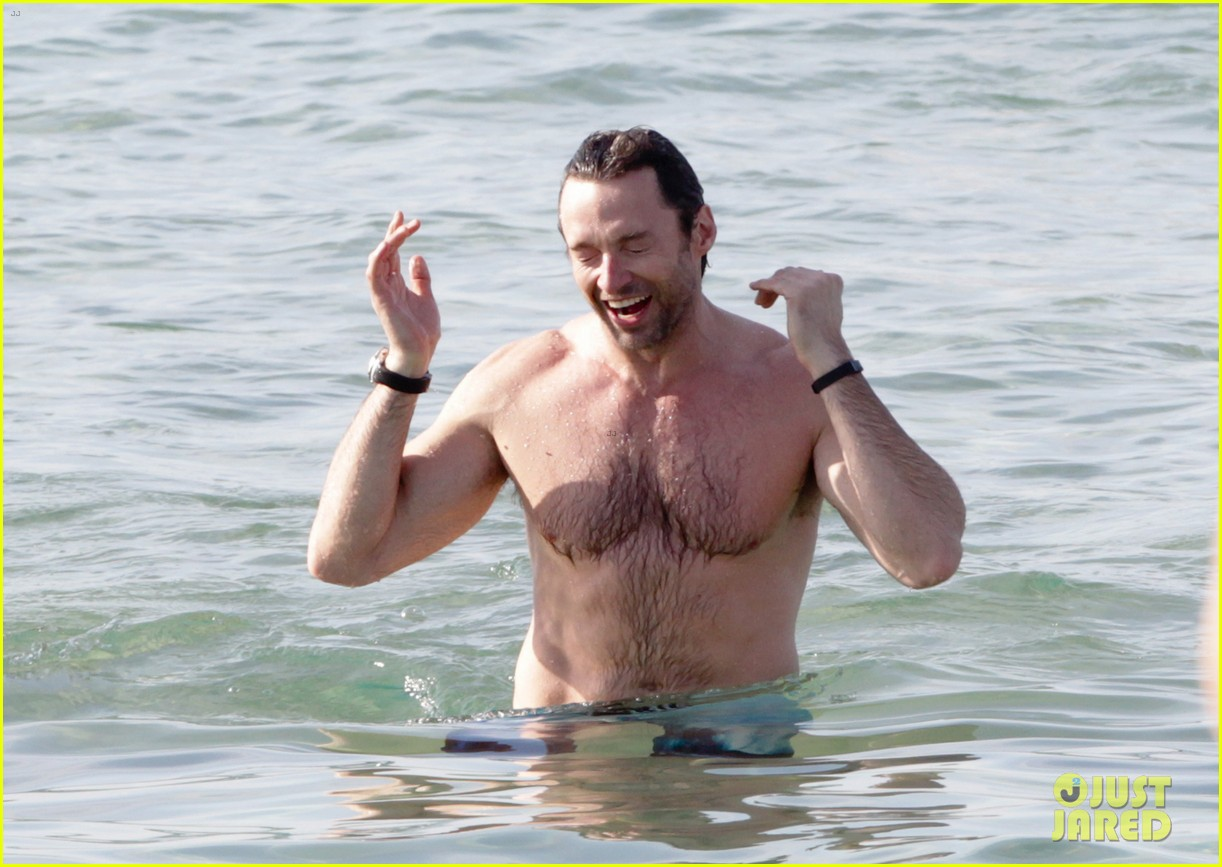 hugh jackman goes sexy shirtless after pan casting news 253015076