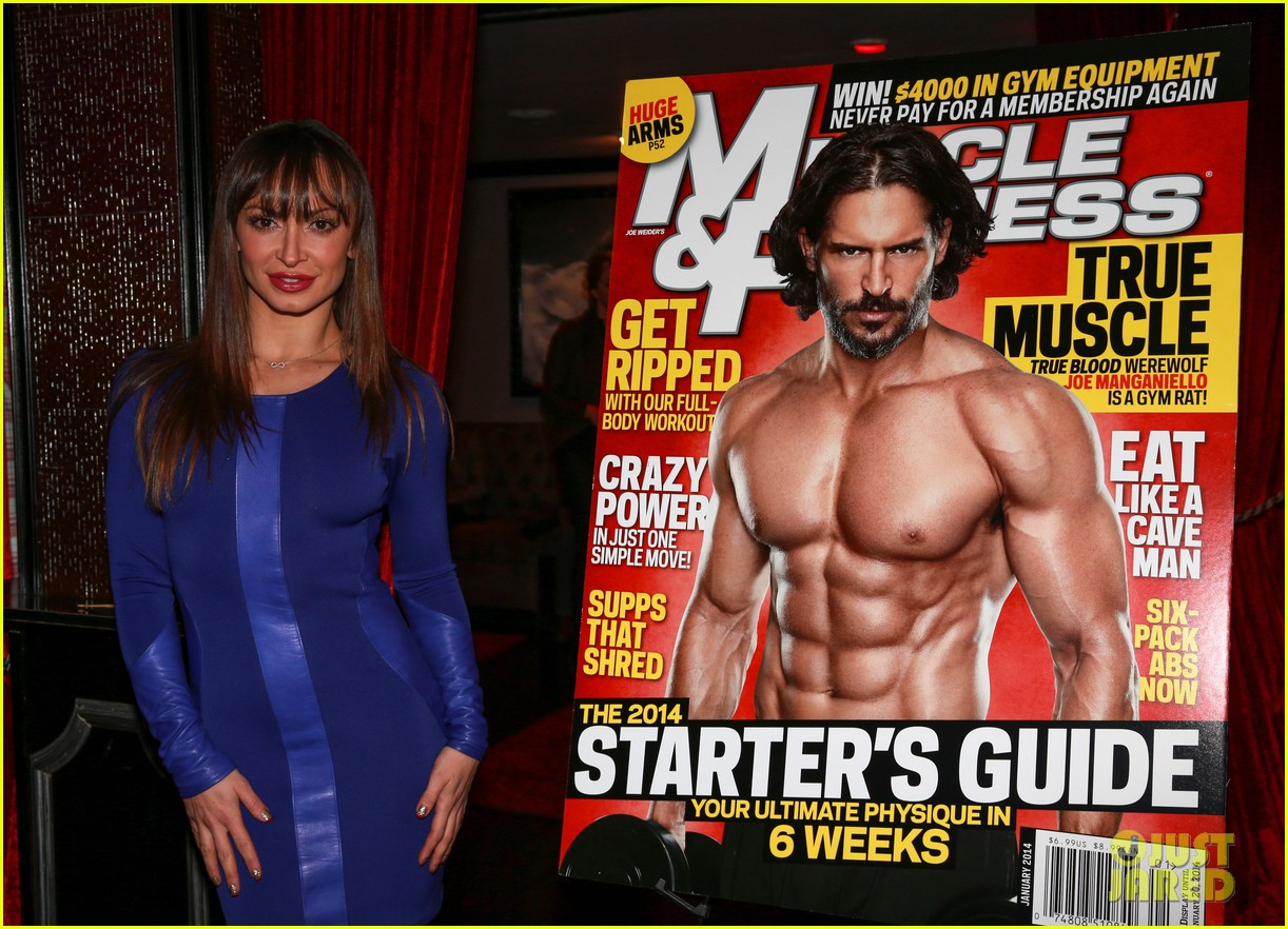 joe manganiello celebrates muscle fitness cover with arnold schwarzenegger 06