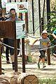 angelina jolie brad pitt visit the zoo with all six kids 09