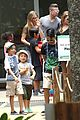 angelina jolie brad pitt visit the zoo with all six kids 63