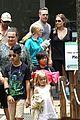 angelina jolie brad pitt visit the zoo with all six kids 65
