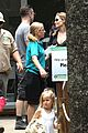 angelina jolie brad pitt visit the zoo with all six kids 69