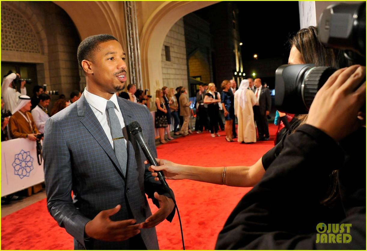 michael b jordan fruitvale station dubai film festival premiere 12
