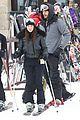 kim kardashian new years eve skiing with kourtney 08