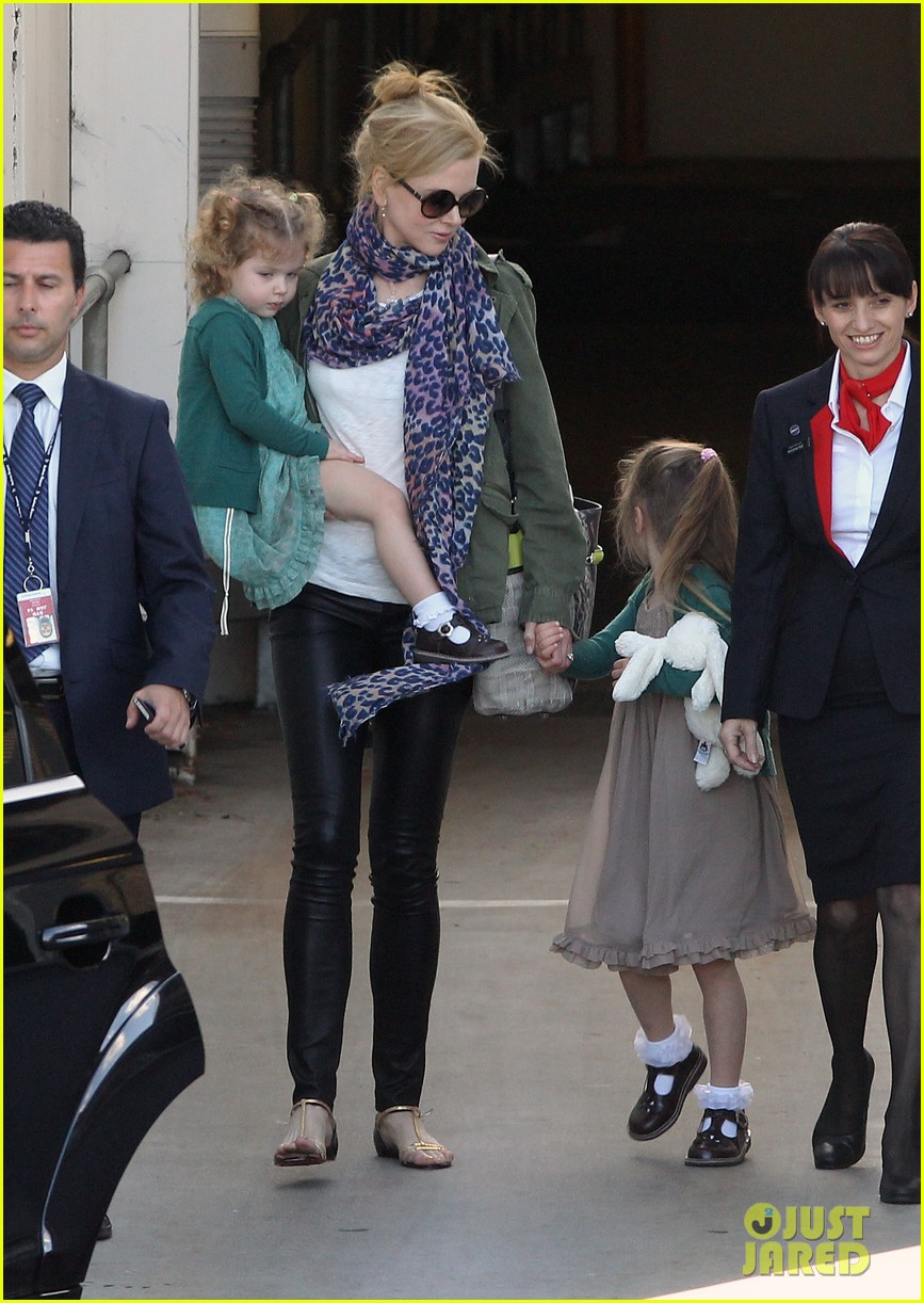 nicole kidman australia arrival with faith sunday 093014403