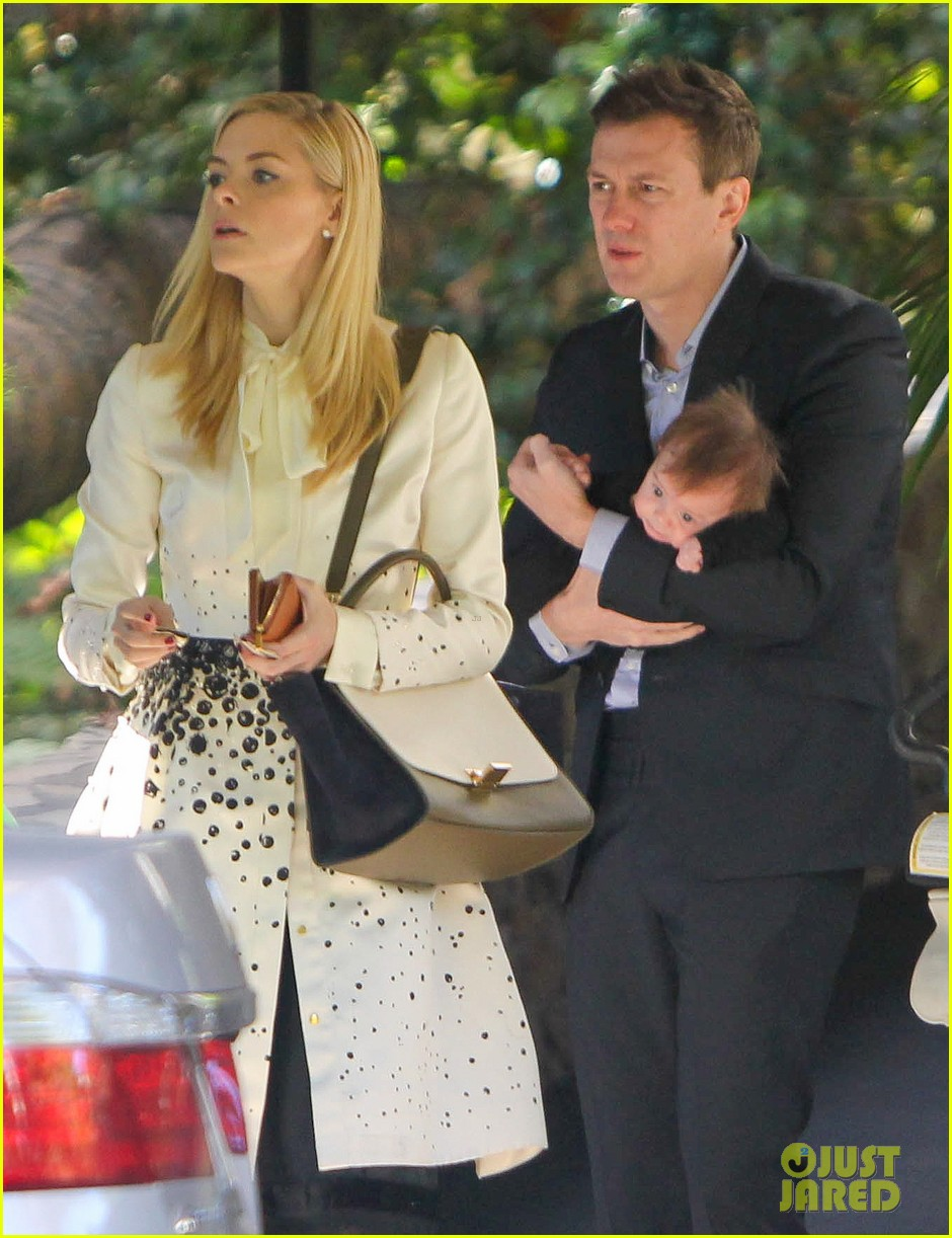 jaime king brunch date with kyle newman baby james 04