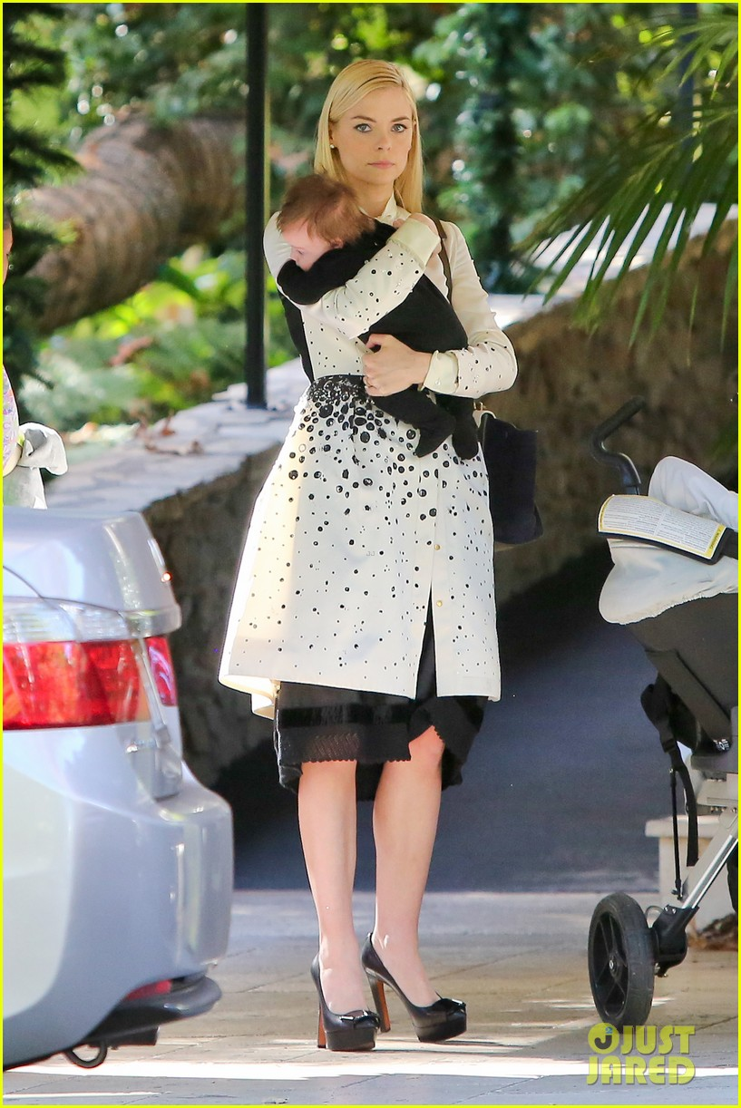 jaime king brunch date with kyle newman baby james 06