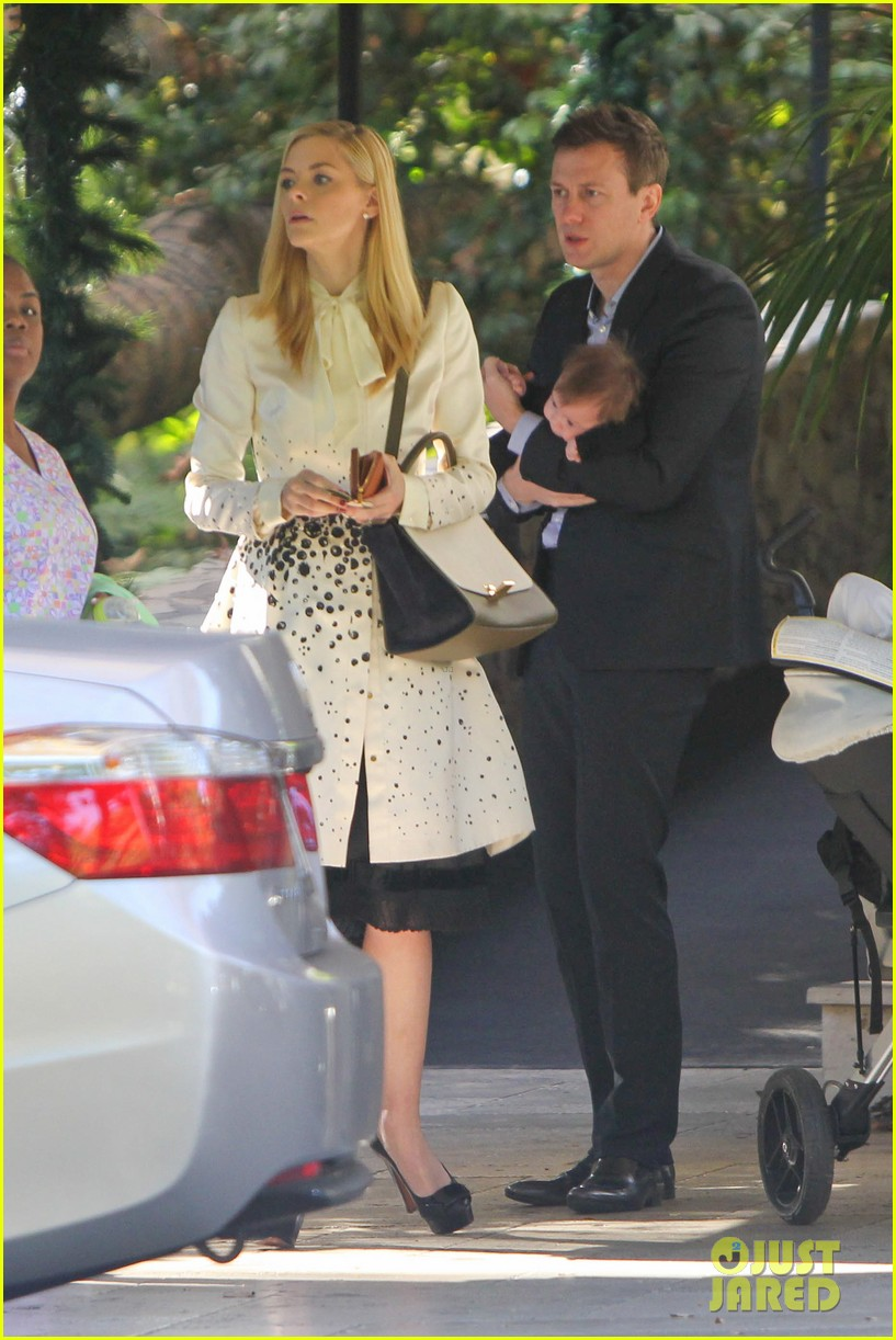 jaime king brunch date with kyle newman baby james 13