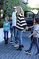 heidi klum post thanksgiving lunch with the kids 14