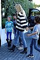 heidi klum post thanksgiving lunch with the kids 16