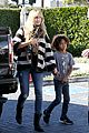 heidi klum post thanksgiving lunch with the kids 24