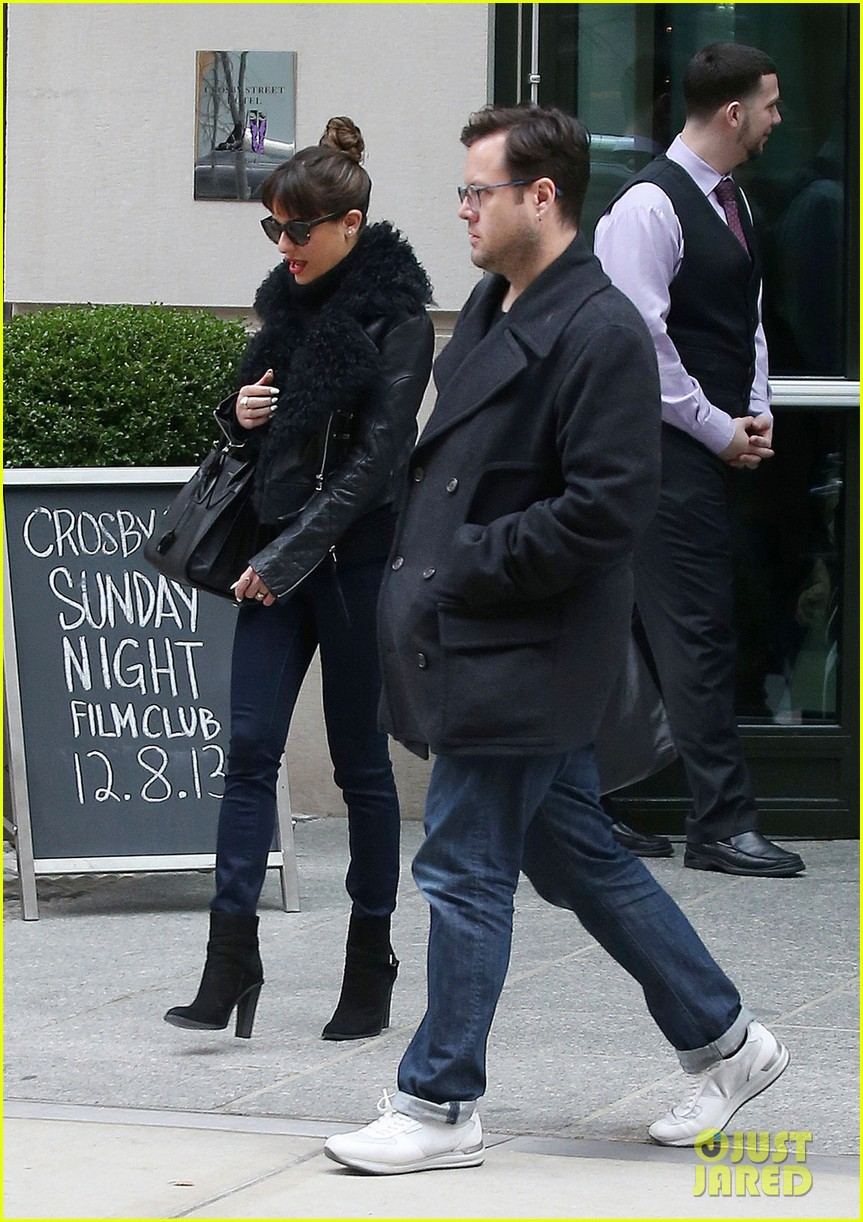 lea michele begins album promo work in nyc 023004215