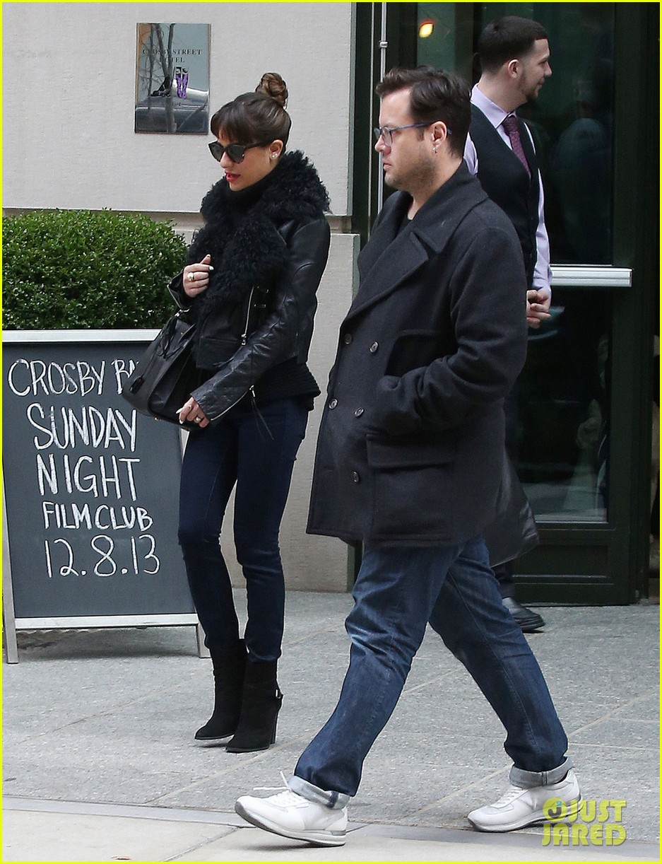 lea michele begins album promo work in nyc 04