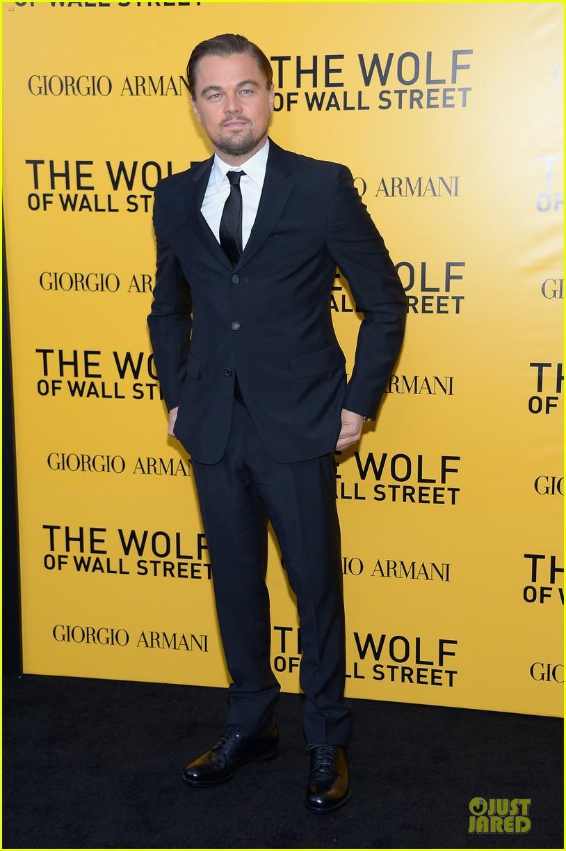 leonardo dicaprio wolf of wall street nyc premiere 013013846