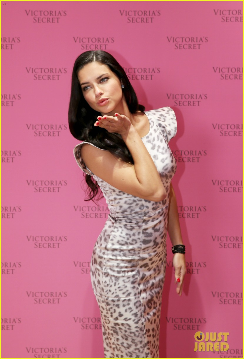 adriana lima launches victorias secret fantasy bra in dubai 143012881