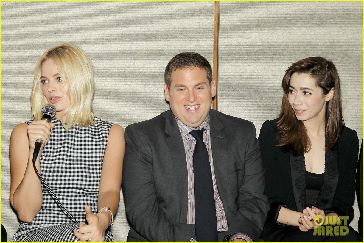 matthew mcconaughey wolf of wall street luncheon with margot robbie 36