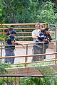 matthew mcconaughey family zoo trip in brazil 08