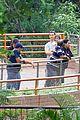 matthew mcconaughey family zoo trip in brazil 08
