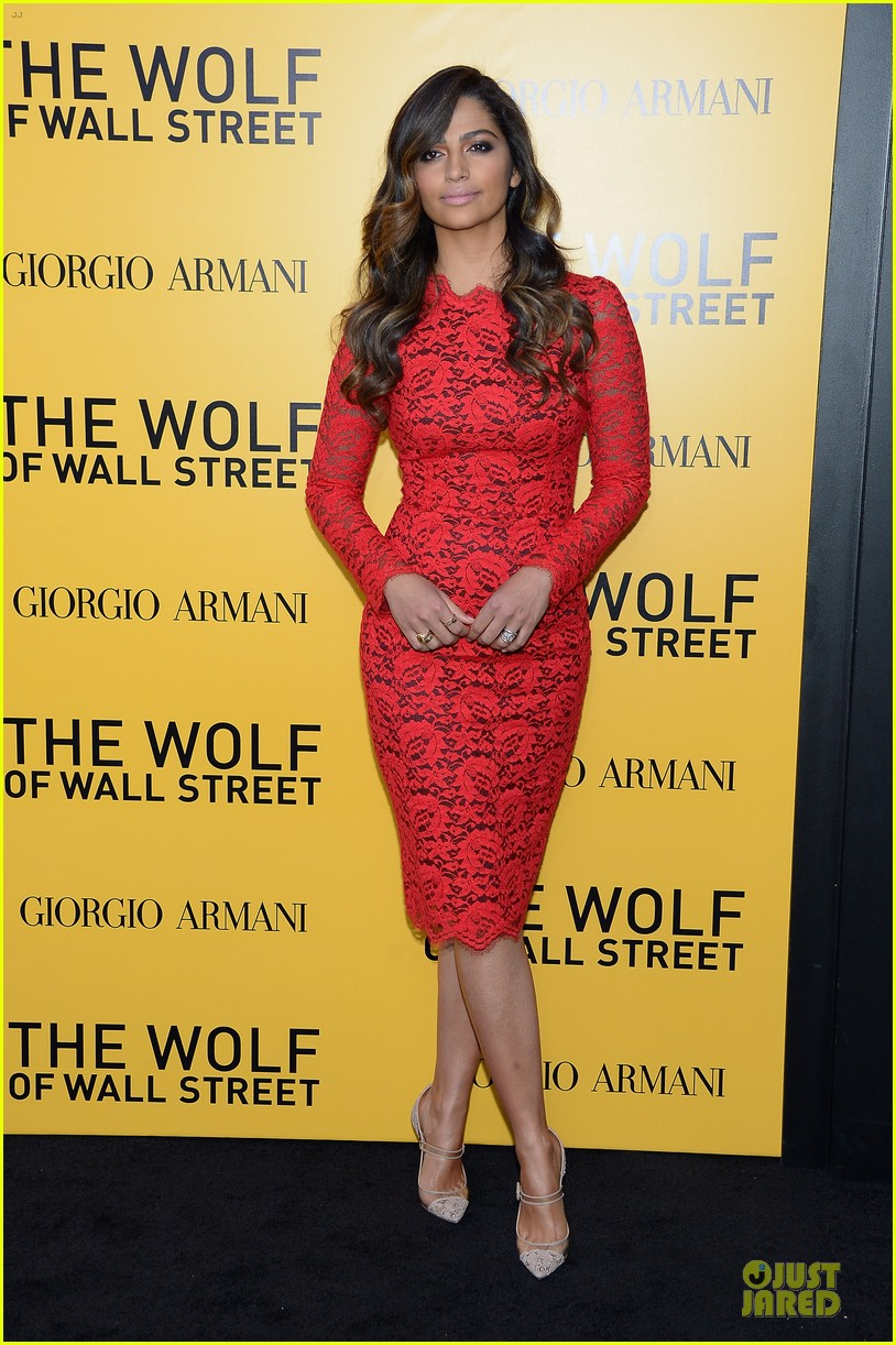 matthew mcconaughey camila alves wolf of wall street nyc premiere 11