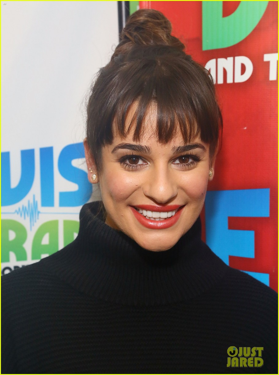 lea michele cannonball makes radio debut with elvis duran 04