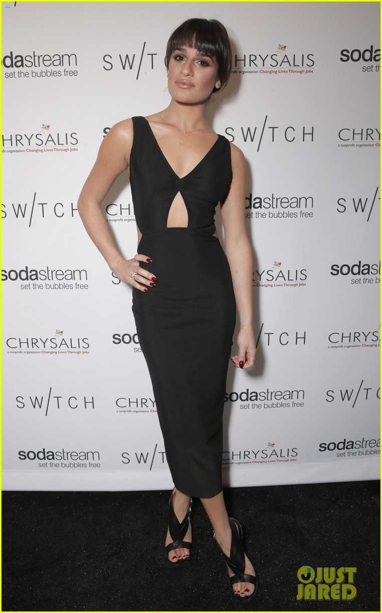 lea michele naya rivera switch boutique holiday party 11