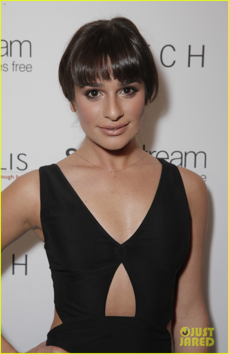 lea michele naya rivera switch boutique holiday party 13