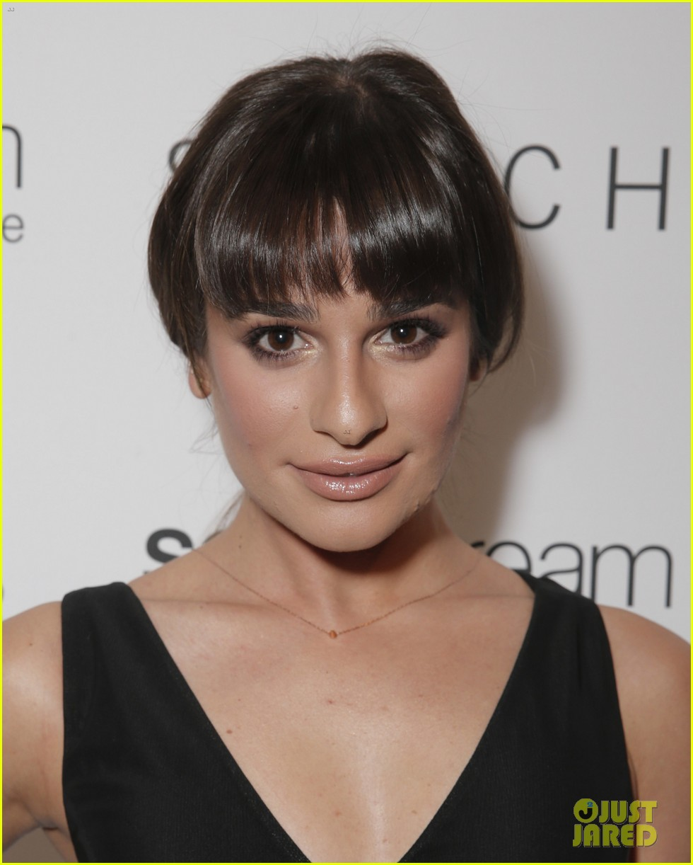 lea michele naya rivera switch boutique holiday party 143012374