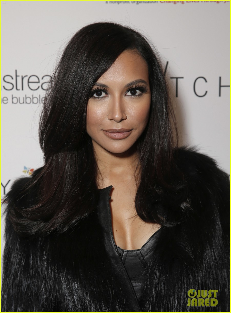 lea michele naya rivera switch boutique holiday party 173012377