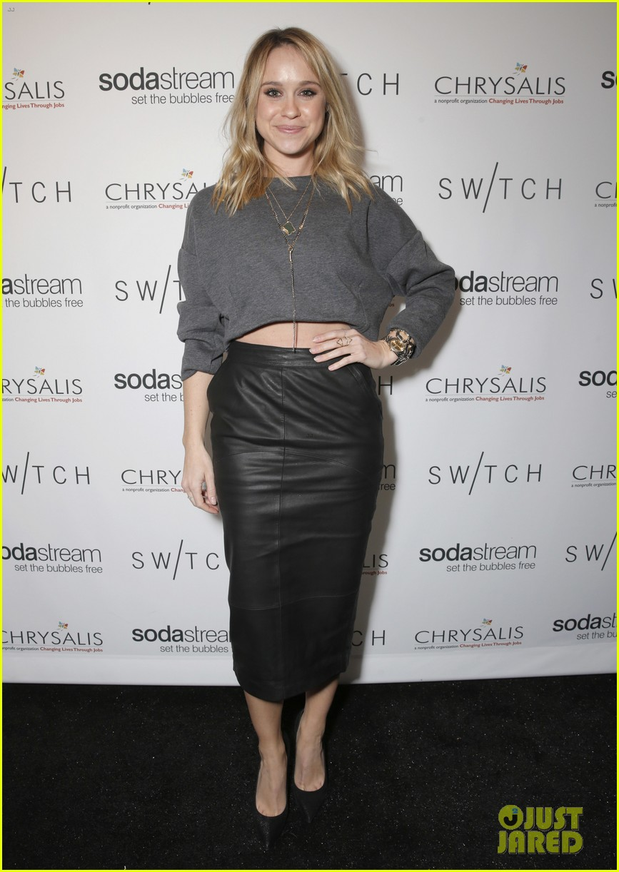 lea michele naya rivera switch boutique holiday party 23