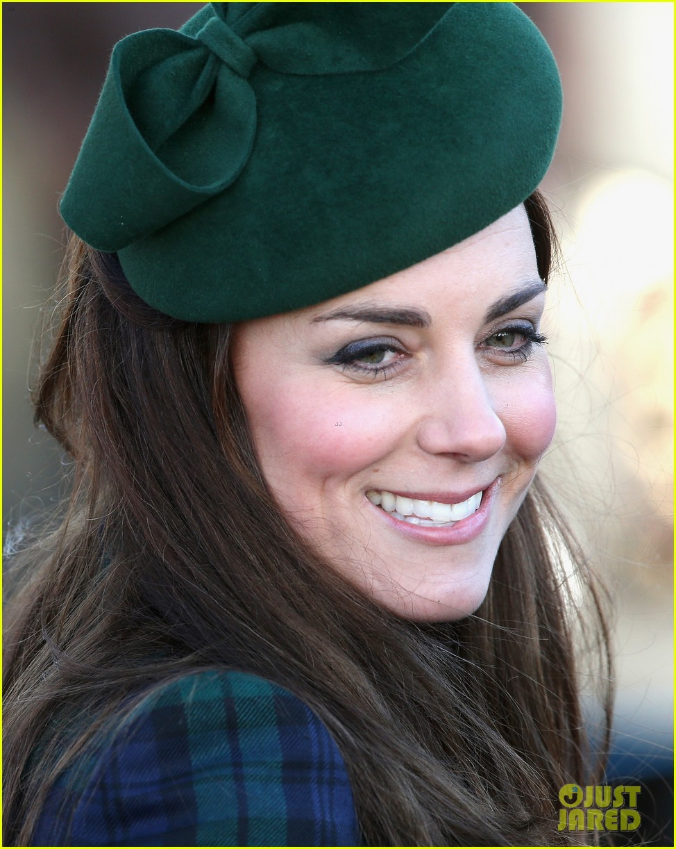 kate middleton prince william christmas day service with prince harry 02