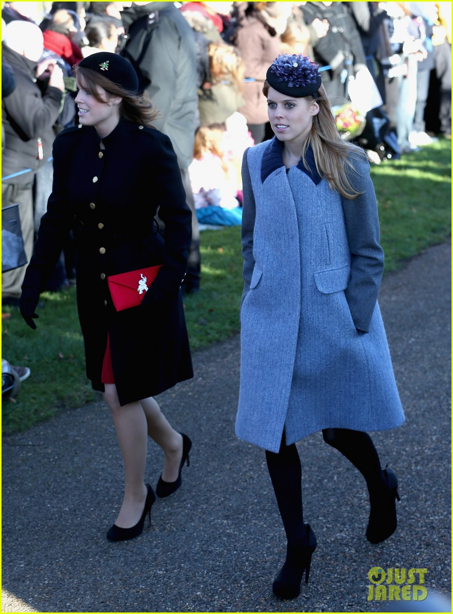 kate middleton prince william christmas day service with prince harry 05