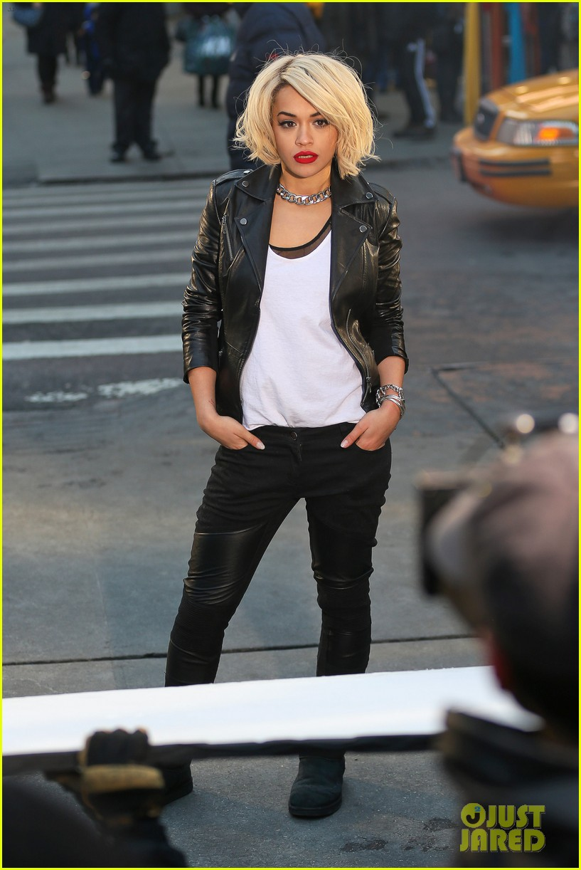 rita ora dkny fashion shoot in nyc 053013558