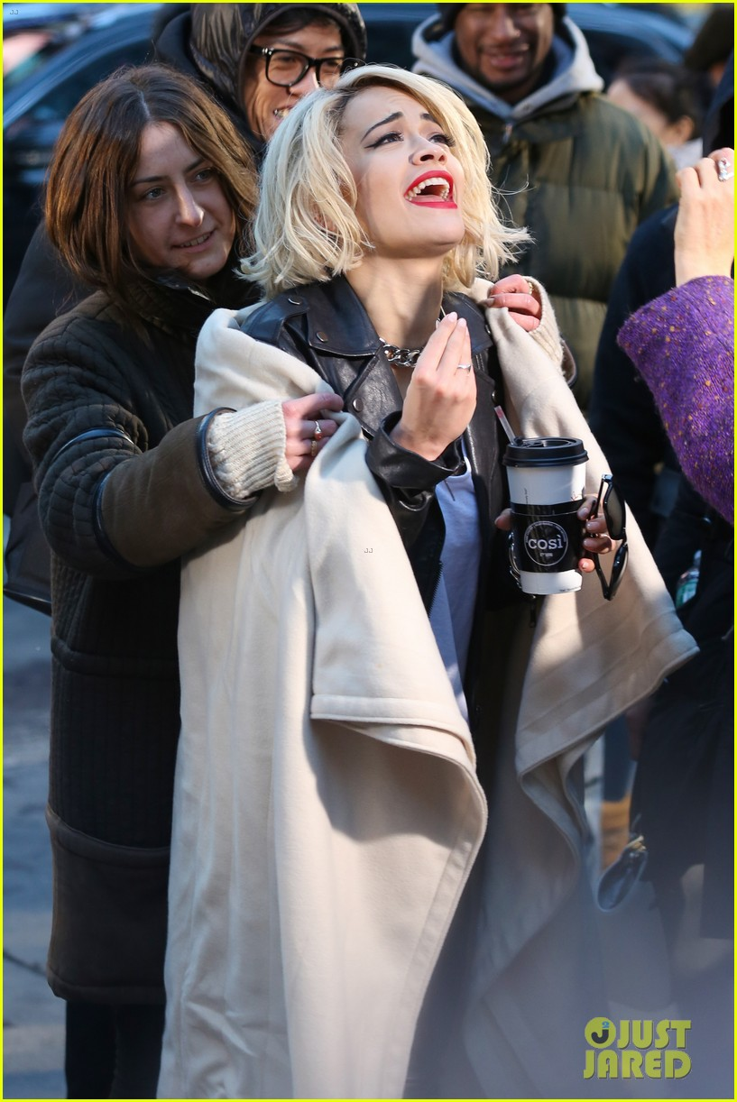 rita ora dkny fashion shoot in nyc 063013559