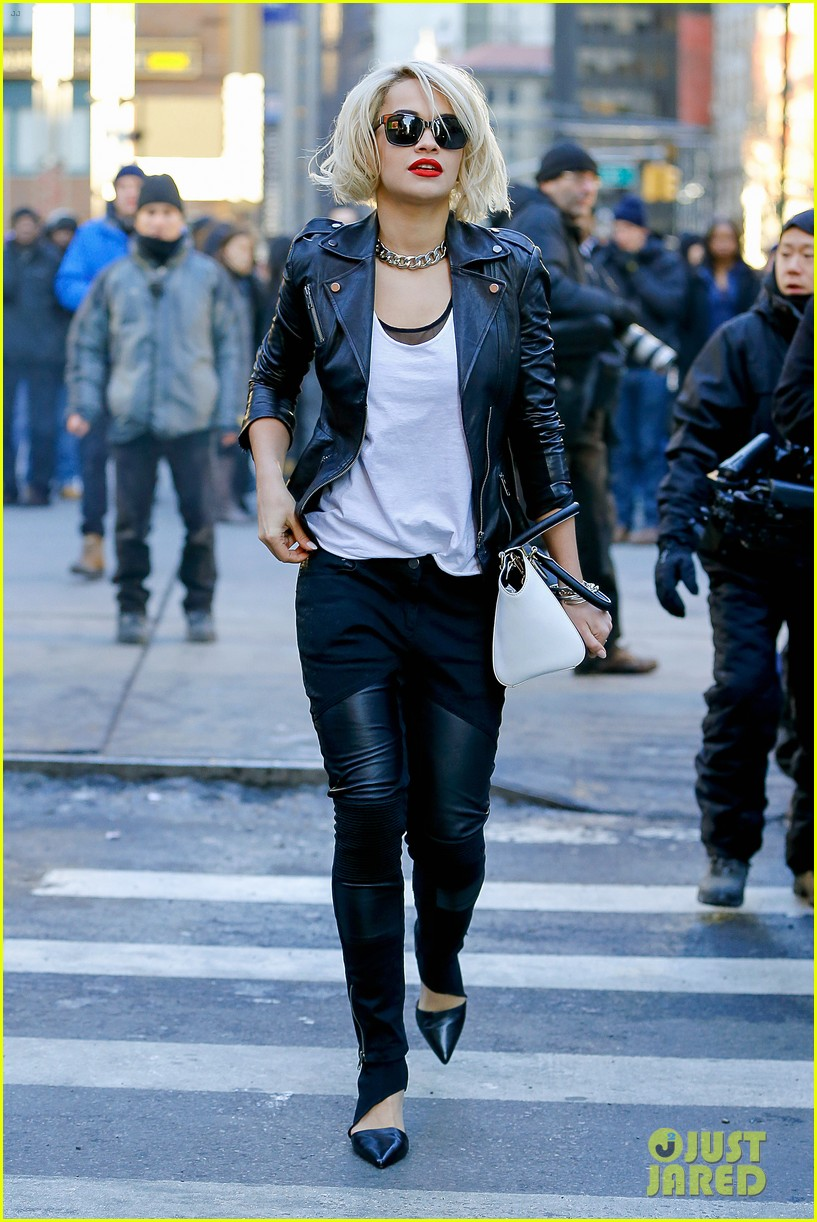 rita ora dkny fashion shoot in nyc 12